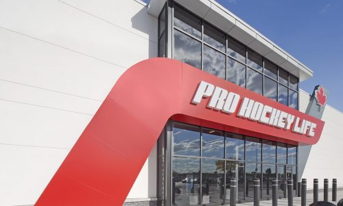 ProHockey Life view close up of entrance